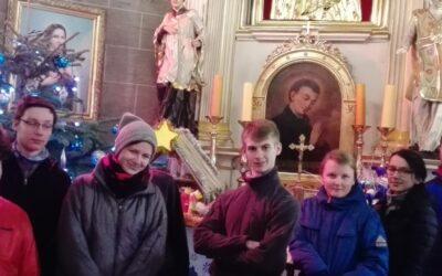 Łucznicy KOSTKI w Więcławicach Starych