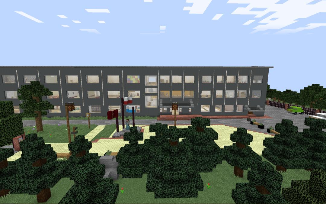 Wirtualny spacer po KOSTCE w Minecraft