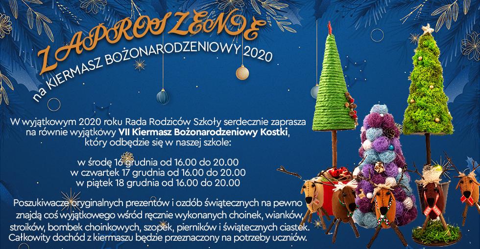 Kiermasz Bożonarodzeniowy już wkrótce!!!