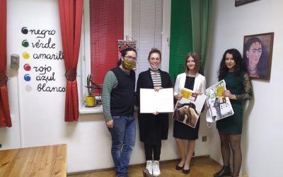Pierwsze nagrody z konkursu j.hiszpańskiego już odebrane