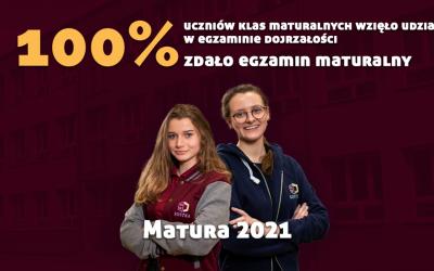 Matura 2021 – podsumowanie i gratulacje